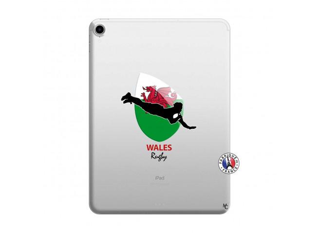 Coque iPad PRO 2018 12.9 Pouces Coupe du Monde Rugby-Walles