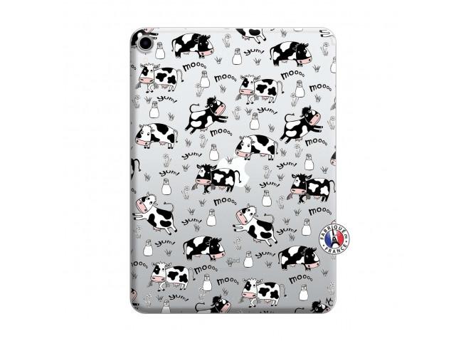 Coque iPad PRO 2018 12.9 Pouces Cow Pattern