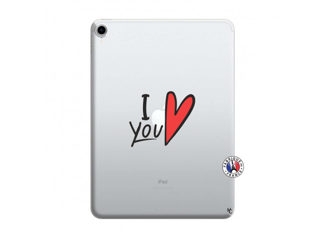 Coque iPad PRO 2018 12.9 Pouces I Love You