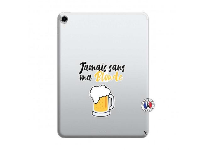Coque iPad PRO 2018 12.9 Pouces Jamais Sans Ma Blonde