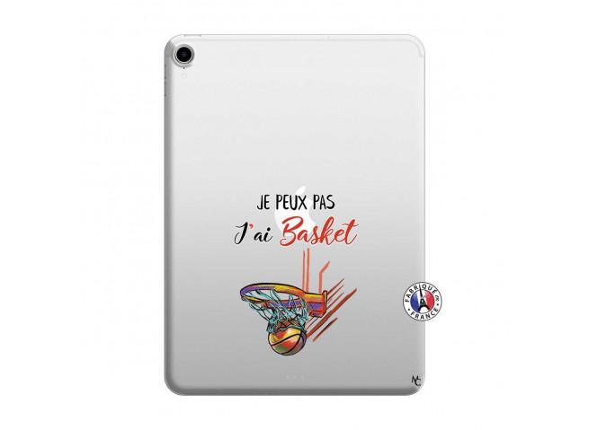 Coque iPad PRO 2018 12.9 Pouces Je Peux Pas J Ai Basket