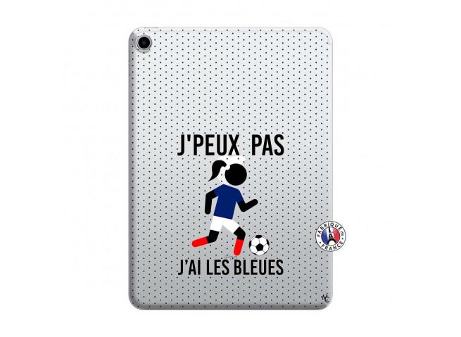 Coque iPad PRO 2018 12.9 Pouces Je Peux Pas J Ai Les Bleues Maillot