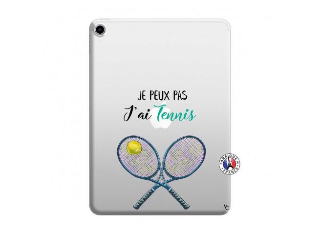 Coque iPad PRO 2018 12.9 Pouces Je Peux Pas J Ai Tennis