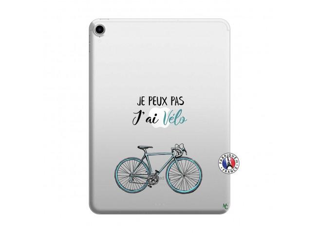 Coque iPad PRO 2018 12.9 Pouces Je Peux Pas J Ai Velo