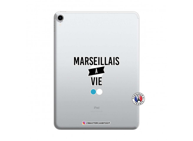 Coque iPad PRO 2018 12.9 Pouces Marseillais à Vie