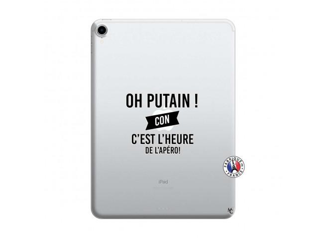 Coque iPad PRO 2018 12.9 Pouces Oh Putain C Est L Heure De L Apero