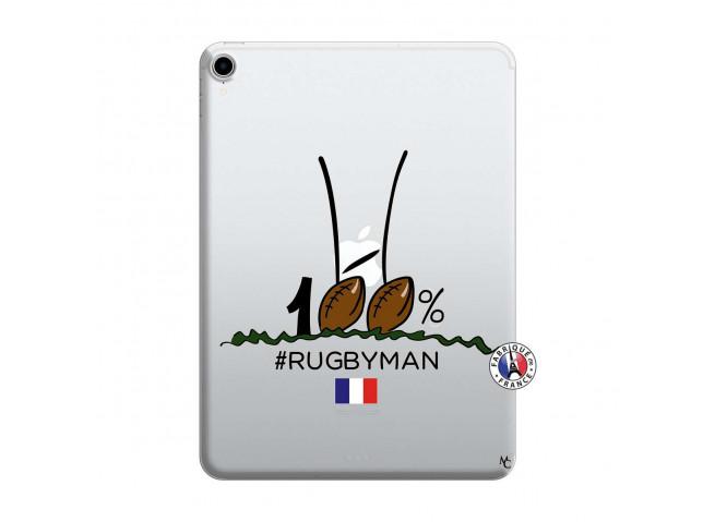 Coque iPad PRO 2018 12.9 Pouces 100 % Rugbyman Entre les Poteaux