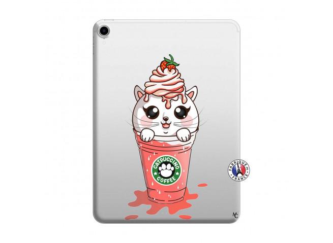 Coque iPad PRO 2018 12.9 Pouces Catpucino Ice Cream