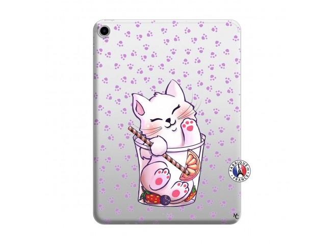 Coque iPad PRO 2018 12.9 Pouces Smoothie Cat