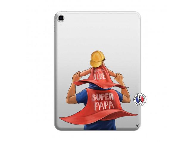 Coque iPad PRO 2018 12.9 Pouces Super Papa et Super Bébé