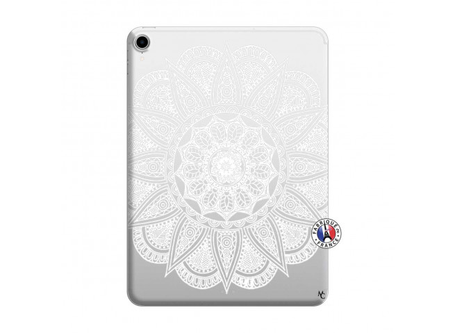 Coque iPad PRO 2018 12.9 Pouces White Mandala