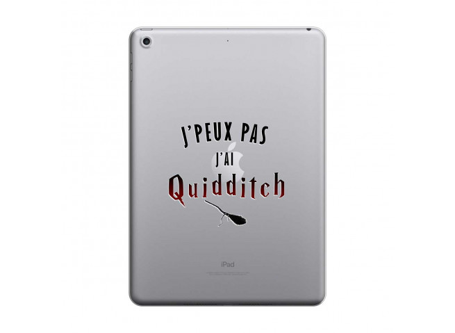 Coque iPad 2018/2017 Hybrid J' peux pas j'ai Quidditch