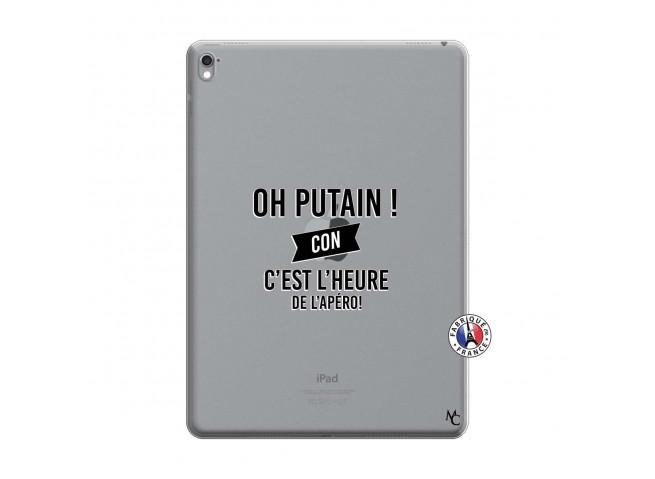 Coque iPad PRO 9.7 Pouces Oh Putain C Est L Heure De L Apero