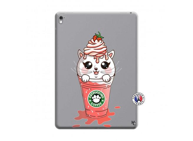 Coque iPad PRO 9.7 Pouces Catpucino Ice Cream