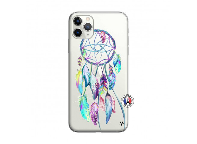Coque iPhone 11 PRO MAX Blue Painted Dreamcatcher