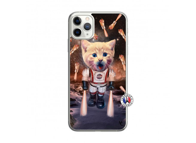 Coque iPhone 11 PRO MAX Cat Nasa Translu