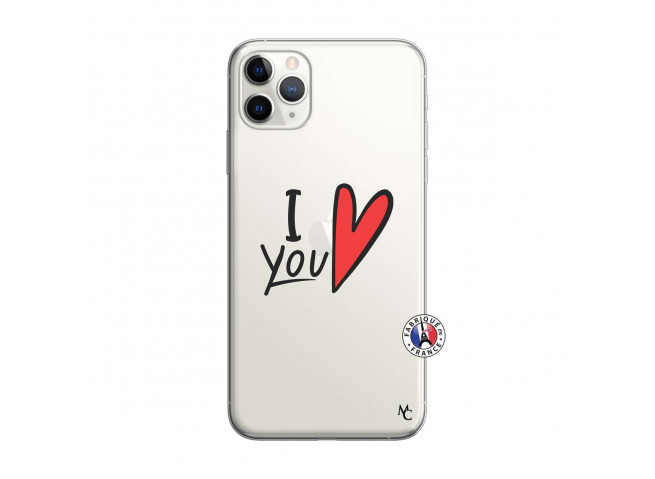 Coque iPhone 11 PRO MAX I Love You