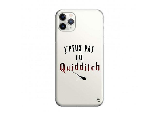 Coque iPhone 11 PRO MAX J Peux Pas J Ai Quidditch 2