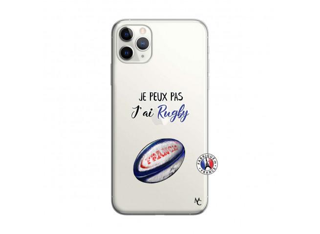 Coque iPhone 11 PRO MAX Je Peux Pas J Ai Rugby