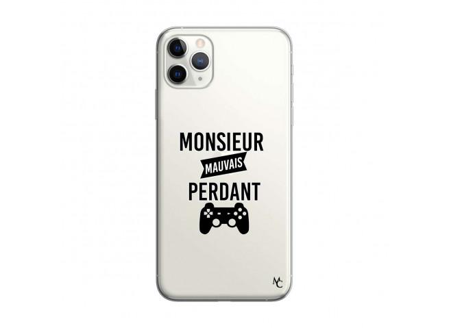 Coque iPhone 11 PRO MAX Monsieur Mauvais Perdant