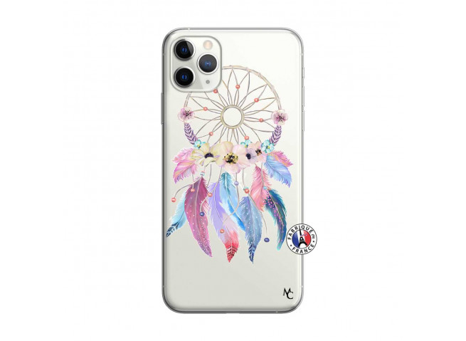 Coque iPhone 11 PRO MAX Multicolor Watercolor Floral Dreamcatcher