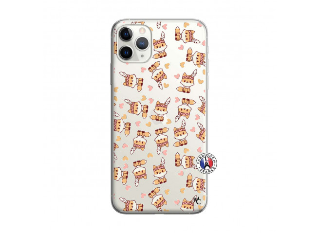 Coque iPhone 11 PRO MAX Petits Renards