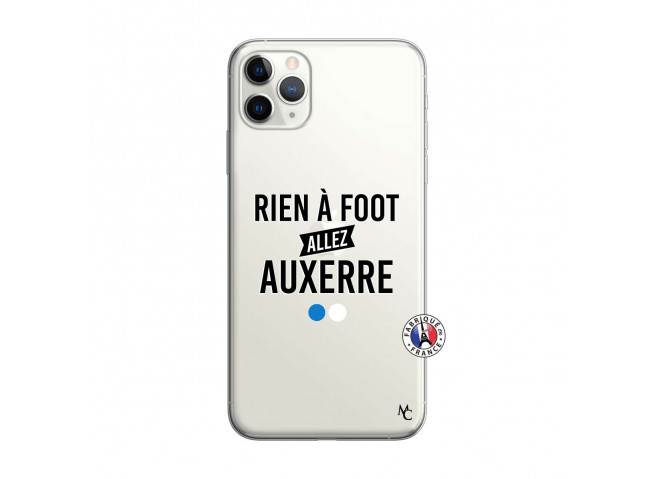 Coque iPhone 11 PRO MAX Rien A Foot Allez Auxerre