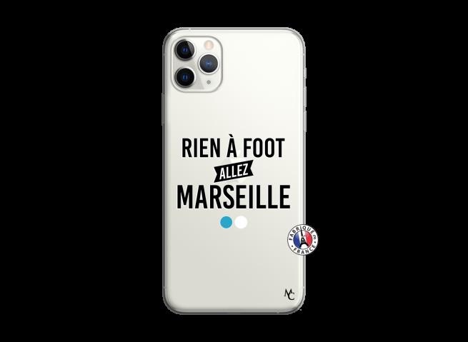 Coque iPhone 11 PRO MAX Rien A Foot Allez Marseille