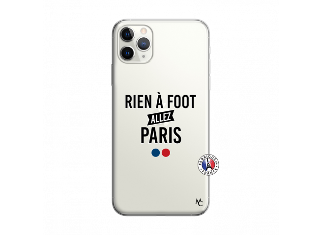 Coque iPhone 11 PRO MAX Rien A Foot Allez Paris