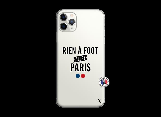 Coque iPhone 11 PRO MAX Rien A Foot Allez Paris