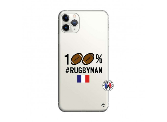 Coque iPhone 11 PRO MAX 100% Rugbyman