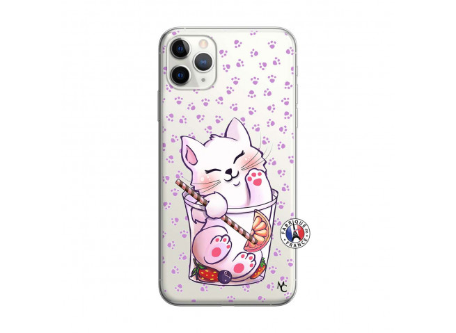 Coque iPhone 11 PRO MAX Smoothie Cat