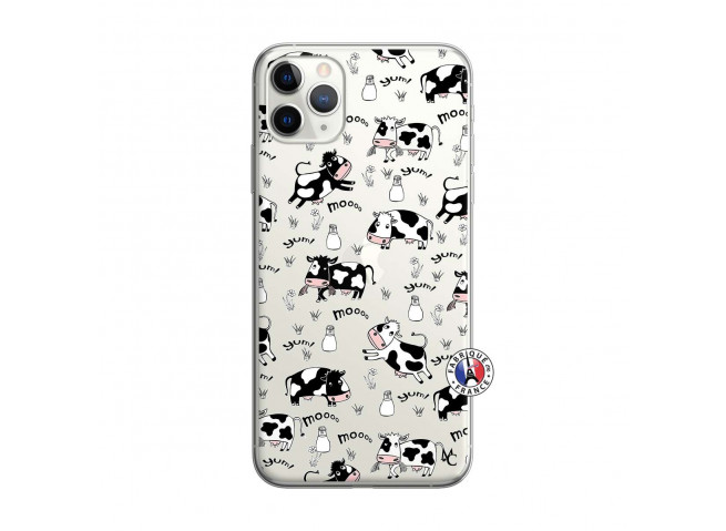 Coque iPhone 11 PRO Cow Pattern