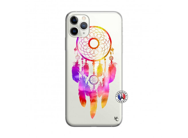 Coque iPhone 11 PRO Dreamcatcher Rainbow Feathers