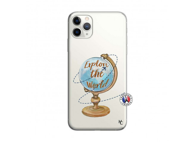 Coque iPhone 11 PRO Globe Trotter