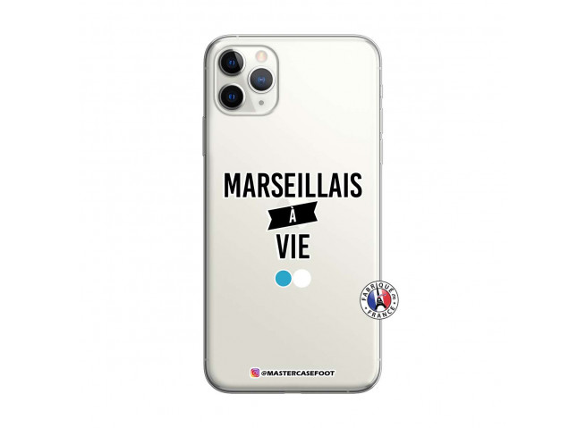 Coque iPhone 11 PRO Marseillais à Vie