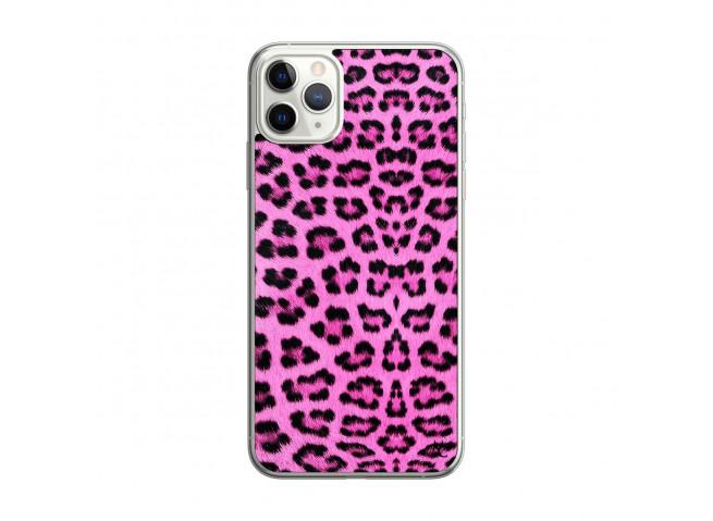 Coque iPhone 11 PRO Pink Leopard Translu
