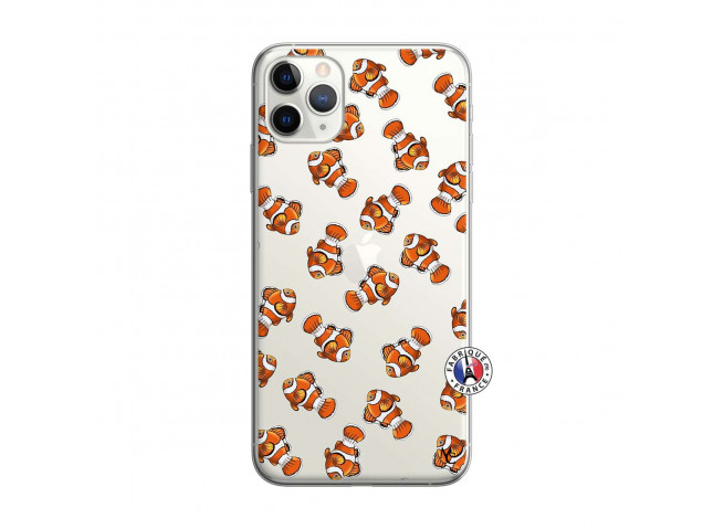 Coque iPhone 11 PRO Petits Poissons Clown