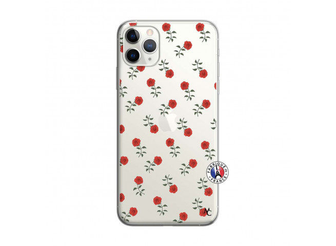 Coque iPhone 11 PRO Rose Pattern