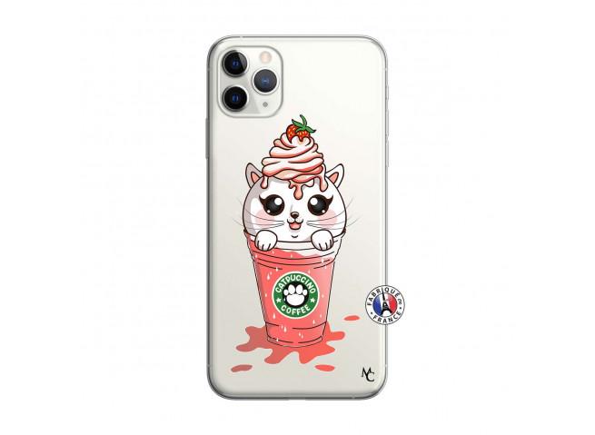 Coque iPhone 11 PRO Smoothie Cat Ice Cream