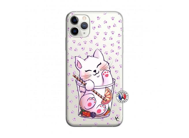 Coque iPhone 11 PRO Smoothie Cat