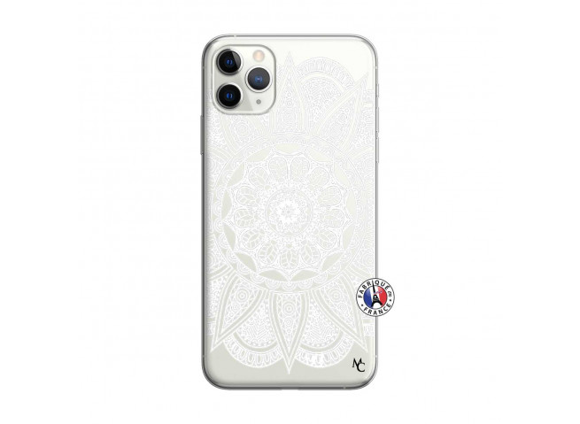 Coque iPhone 11 PRO White Mandala
