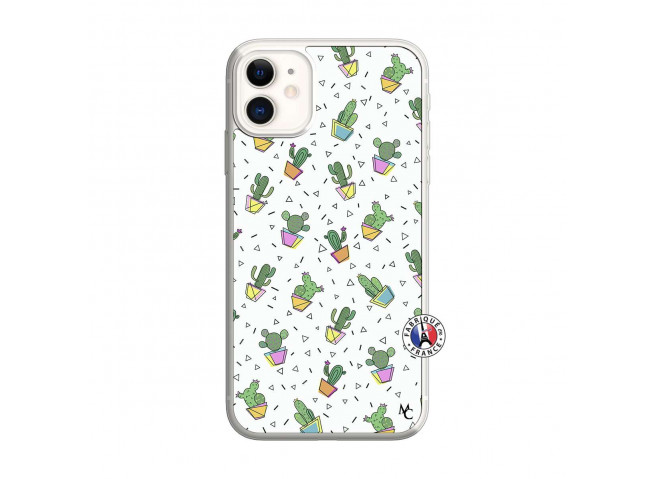 Coque iPhone 11 Le Monde Entier est un Cactus Translu