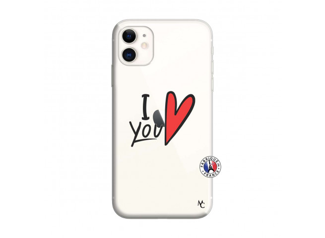 Coque iPhone 11 I Love You