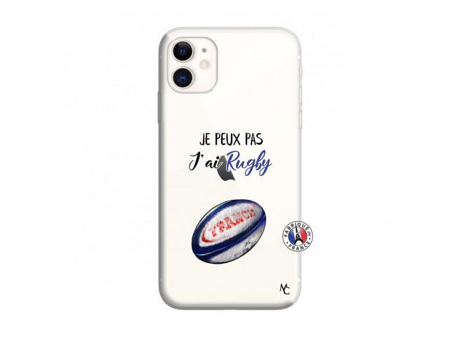 Coque iPhone 11 Je Peux Pas J Ai Rugby