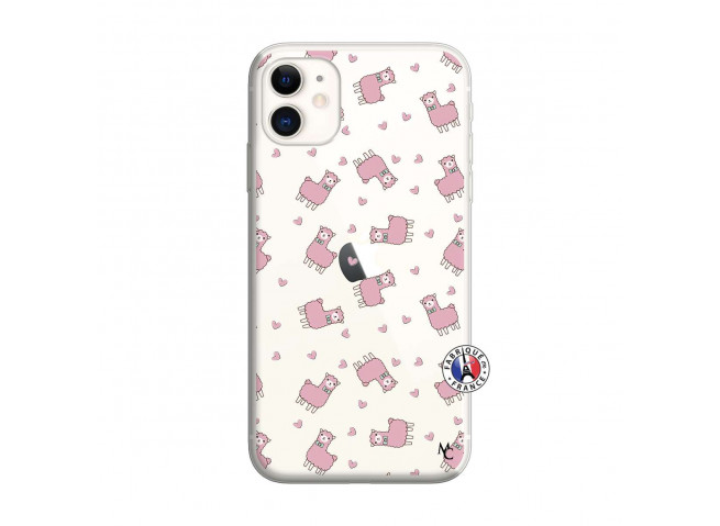 Coque iPhone 11 Petits Moutons