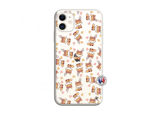 Coque iPhone 11 Petits Renards