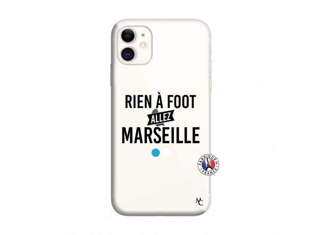 Coque iPhone 11 Rien A Foot Allez Marseille