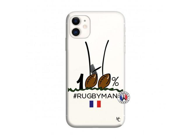 Coque iPhone 11 100 % Rugbyman Entre les Poteaux