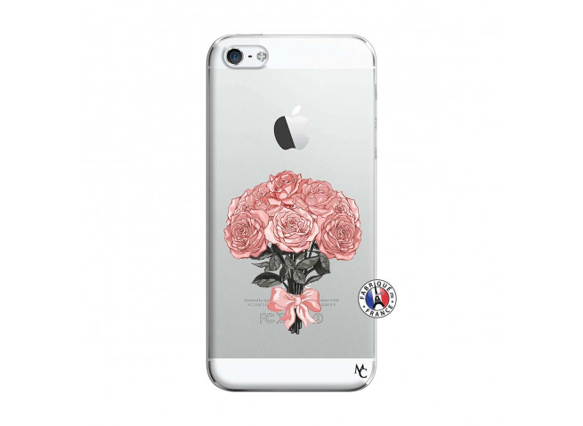 Coque iPhone 5/5S/SE Bouquet de Roses